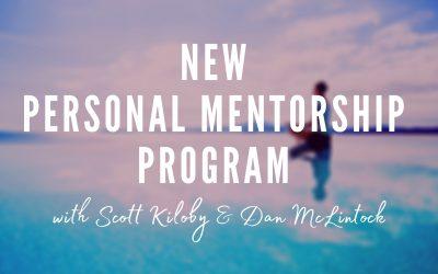 NEW Personal Mentorship Program